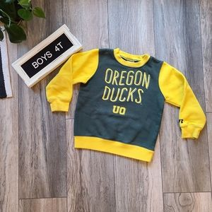 Oregon Duck Sweatshirt | Kids 4T Crewneck
